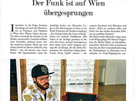 FUNK Optik Wien / Wiener Zeitung