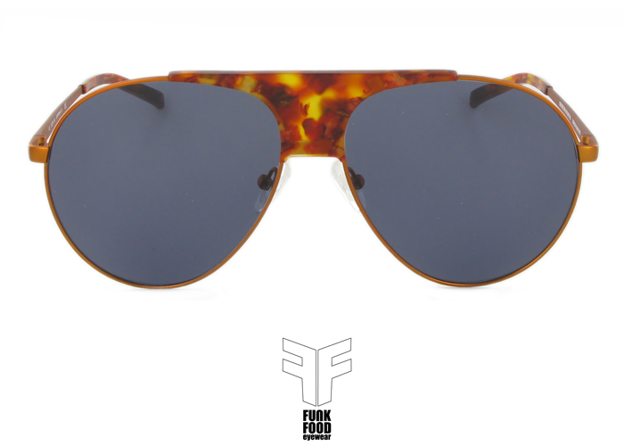 Caipirinha C5 golden amber BASE 2 grey solid lenses