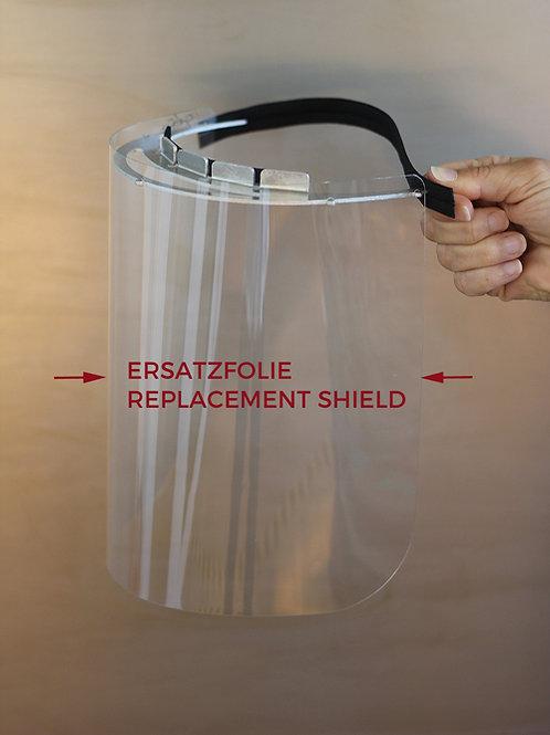 Replacement Shield for Face Shield | Ersatzfolie für Gesichtsschild