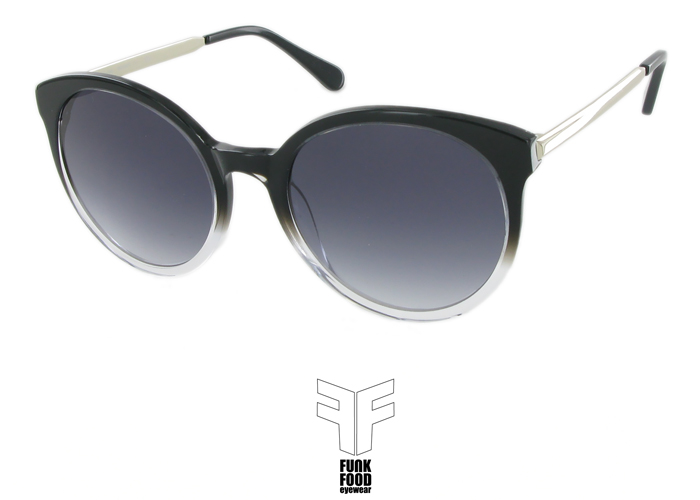 Mochito C1 black`n clear with grey gradient lenses