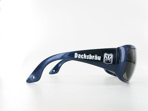 FUNK-Dachbräu Sonnenbrille metallic-blau
