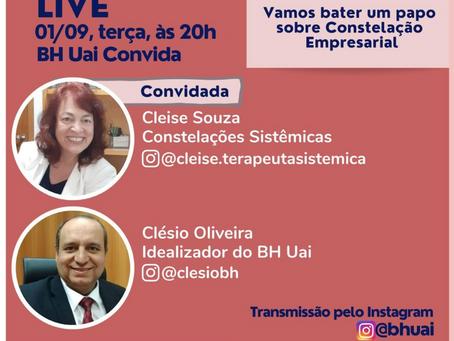 Live no instagram:Convite