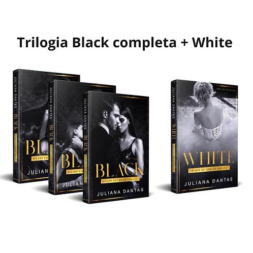 Trilogia Black completa + White