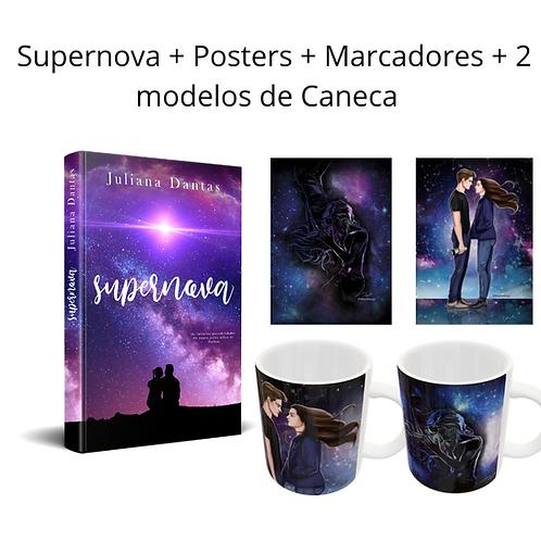 Supernova + Marcadores + Posteres + 2 canecas