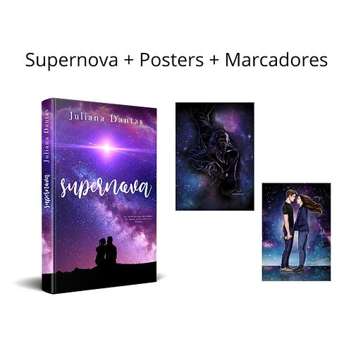 Supernova + Posters + Marcadores