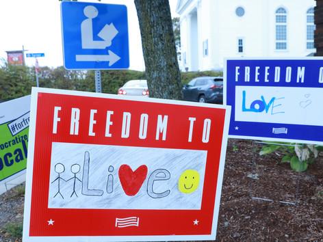 Democracy Thrives at Turner Free Library