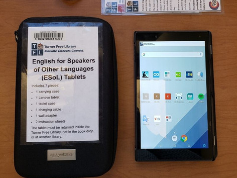 Tablets for Adult English Language Learners