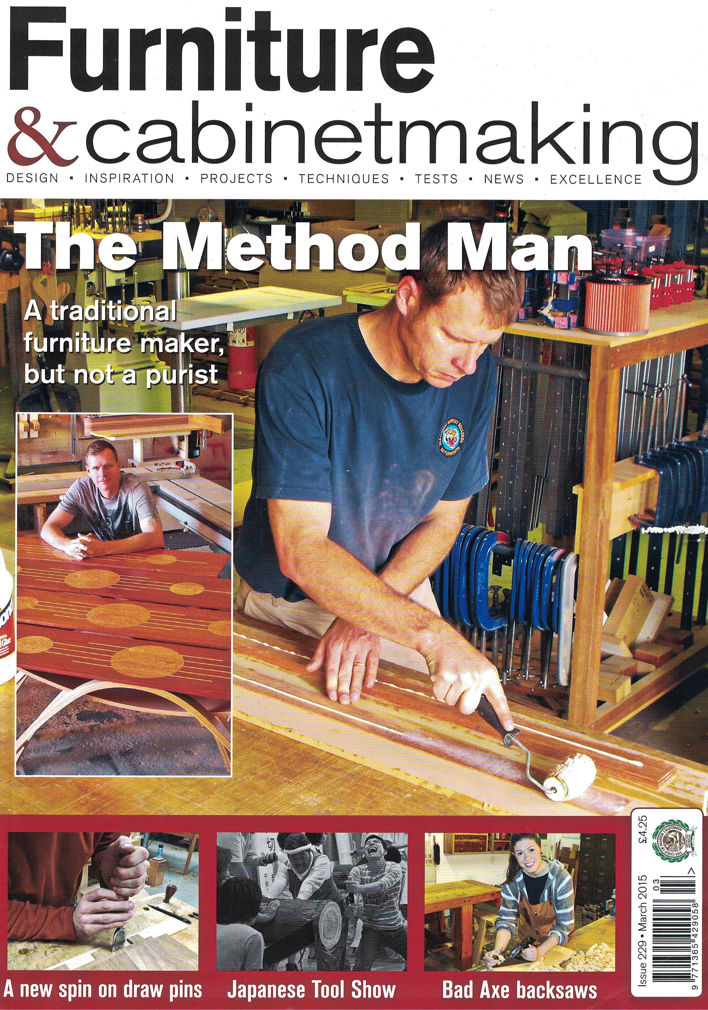 Furniture & Cabinet Making Issue No. 229