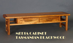 Media Cabinet Blackwood 1a-1