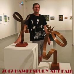 Darren At Artfair 2017a