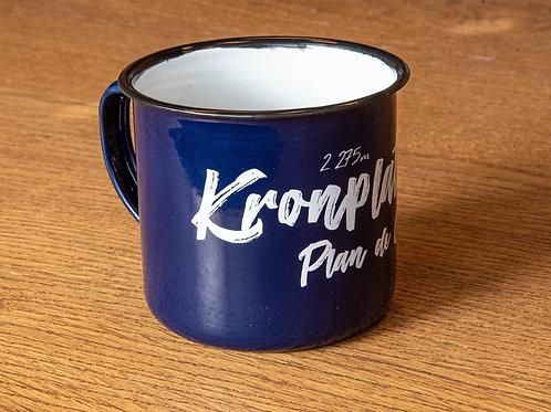 Kronplatz Vintage Cup BLUE