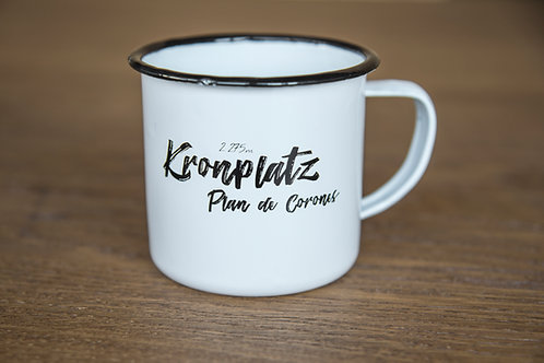 Kronplatz Vintage Cup WHITE