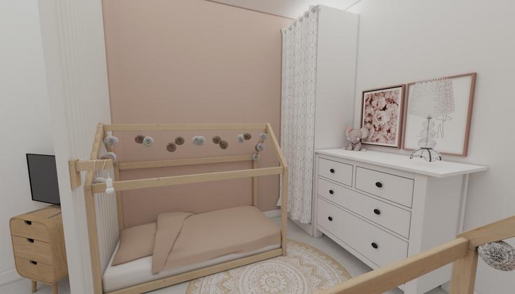 Proposition 1 : Chambre 2 enfants / 1 adulte