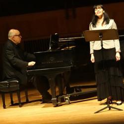 Professor Mandelbaum and Kathryn