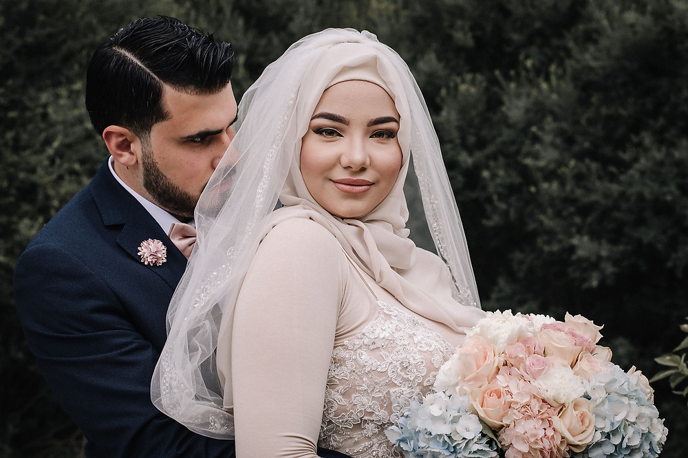 Wedding photography by Grand River Studios. Arabic couple, beautiful and radiant as ever.