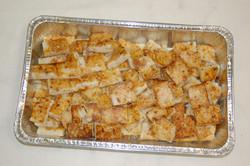 Pan Frie Turnip Cakes