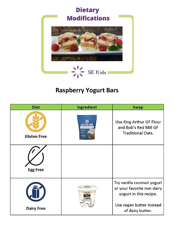 Dietary Modifications Raspberry Yogurt.p