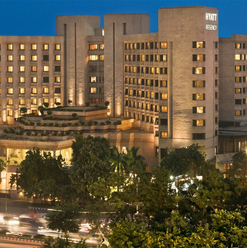 Hyatt Regency Hotel, Delhi.