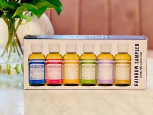 Giveaway: Dr Bronner's Rainbow Sampler