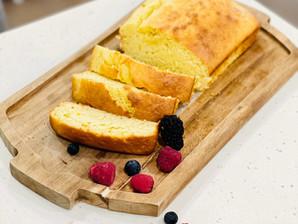 Recipe: Vegan Berry Yoghurt Cake