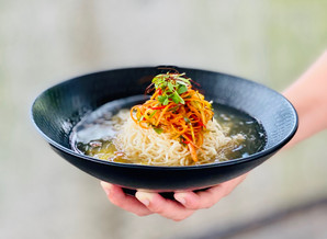 Recipe: Chilled Ramen with Spicy Carrot & Cucumber Salad