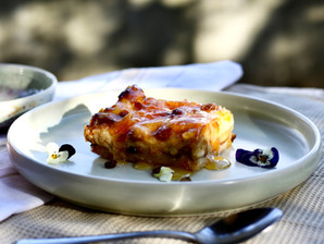Recipe: Vegan Bread & Butter Pudding