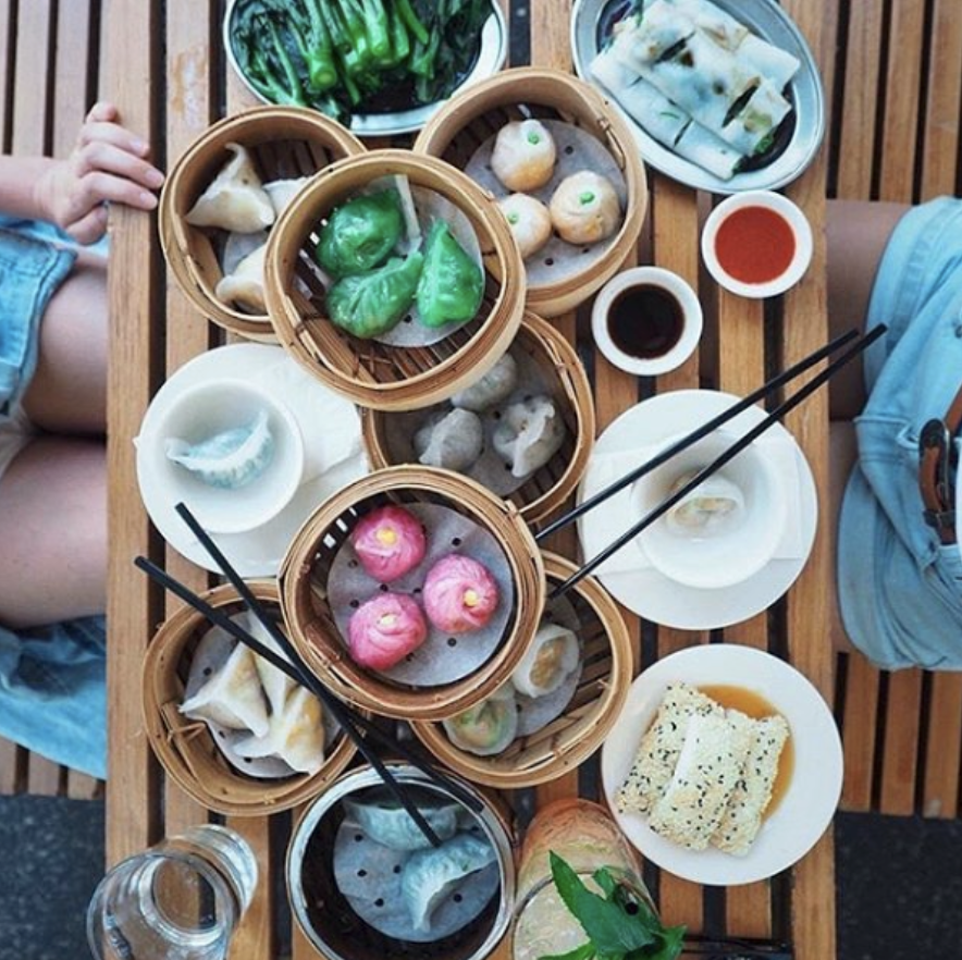 Dim sum delights  Our yum cha spread has something for everyone as this pic by @bonnyrebecca shows.