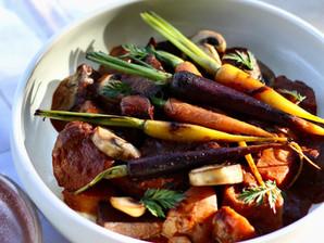 Recipe: Tofu Bourguignon