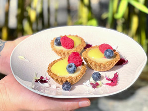 Recipe: White Chocolate Tart with Yuzu Curd