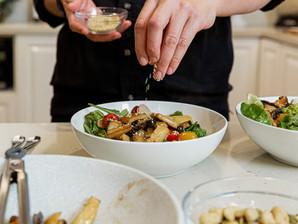 Recipe: Warm Winter Mushroom Salad