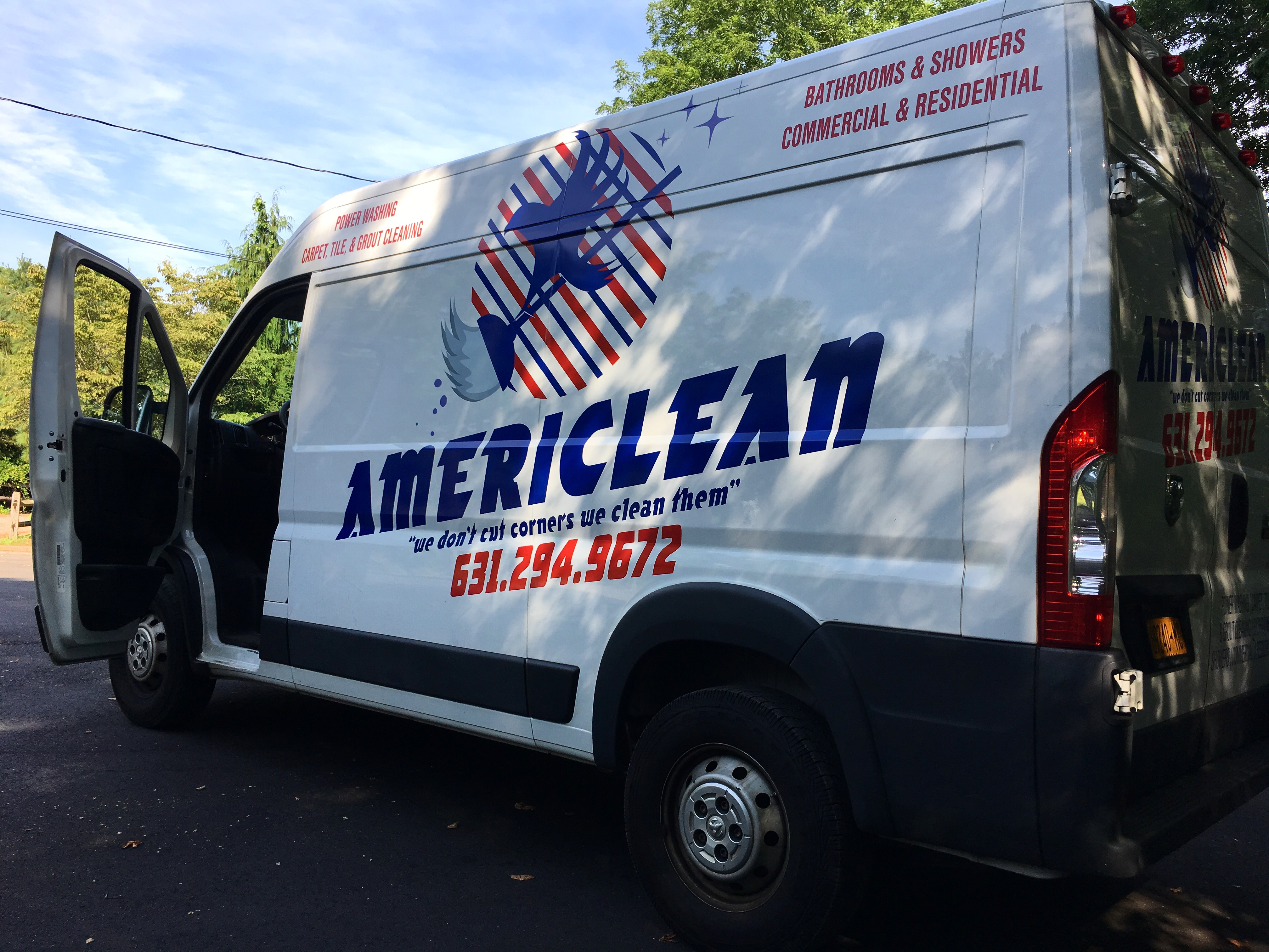 Americlean Fleet Graphics