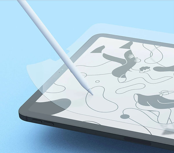 PaperLike, iPad Screen Protector, iPad Pro, Apple Pencil, iPad Pro Art, iPad Pro Screen Protecto