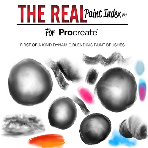 The Real Paint Index For Procreate (Single Set)