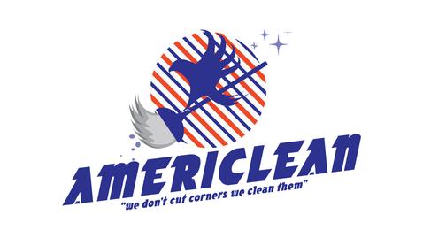 Americlean Logo Design