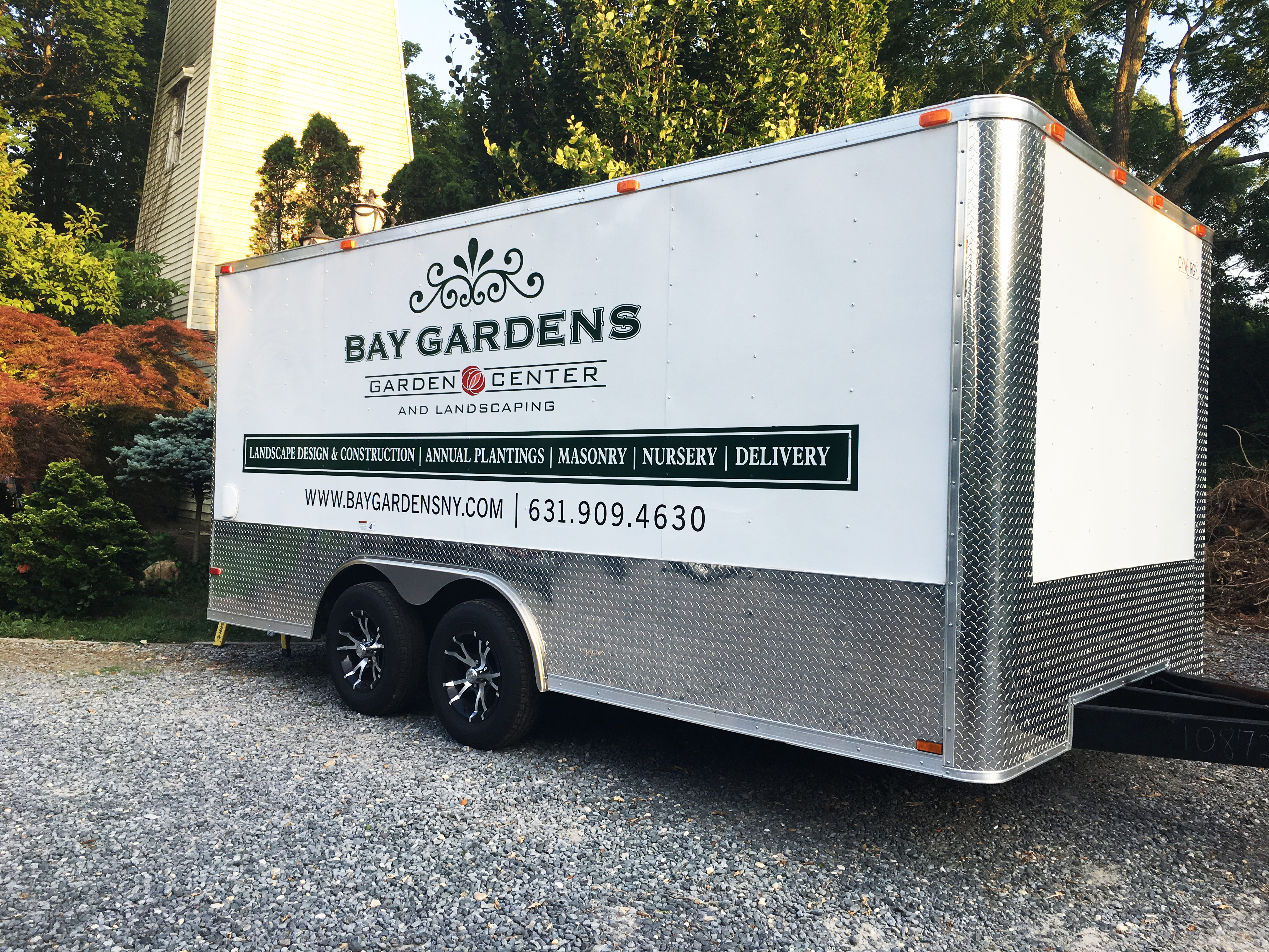 Bay Gardens Truck Letter & Graphics