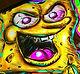 Digital illustrator, digital illustration, sponge bob, sponge bob illustratio, graphic artist, graphic art
