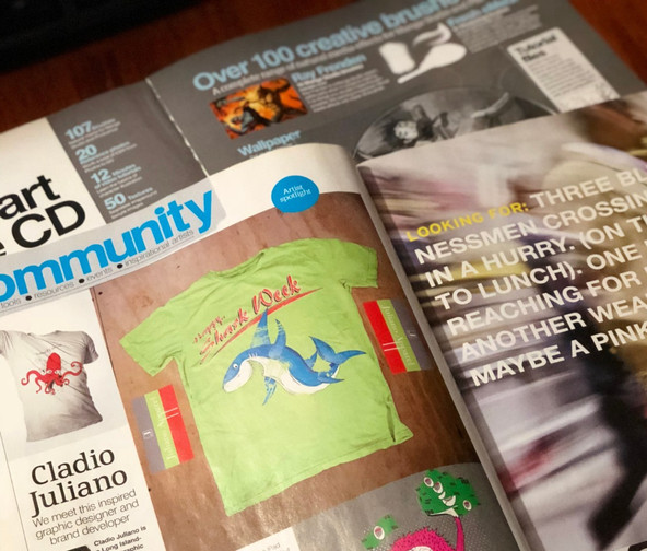 Digital Artist Mag Feature