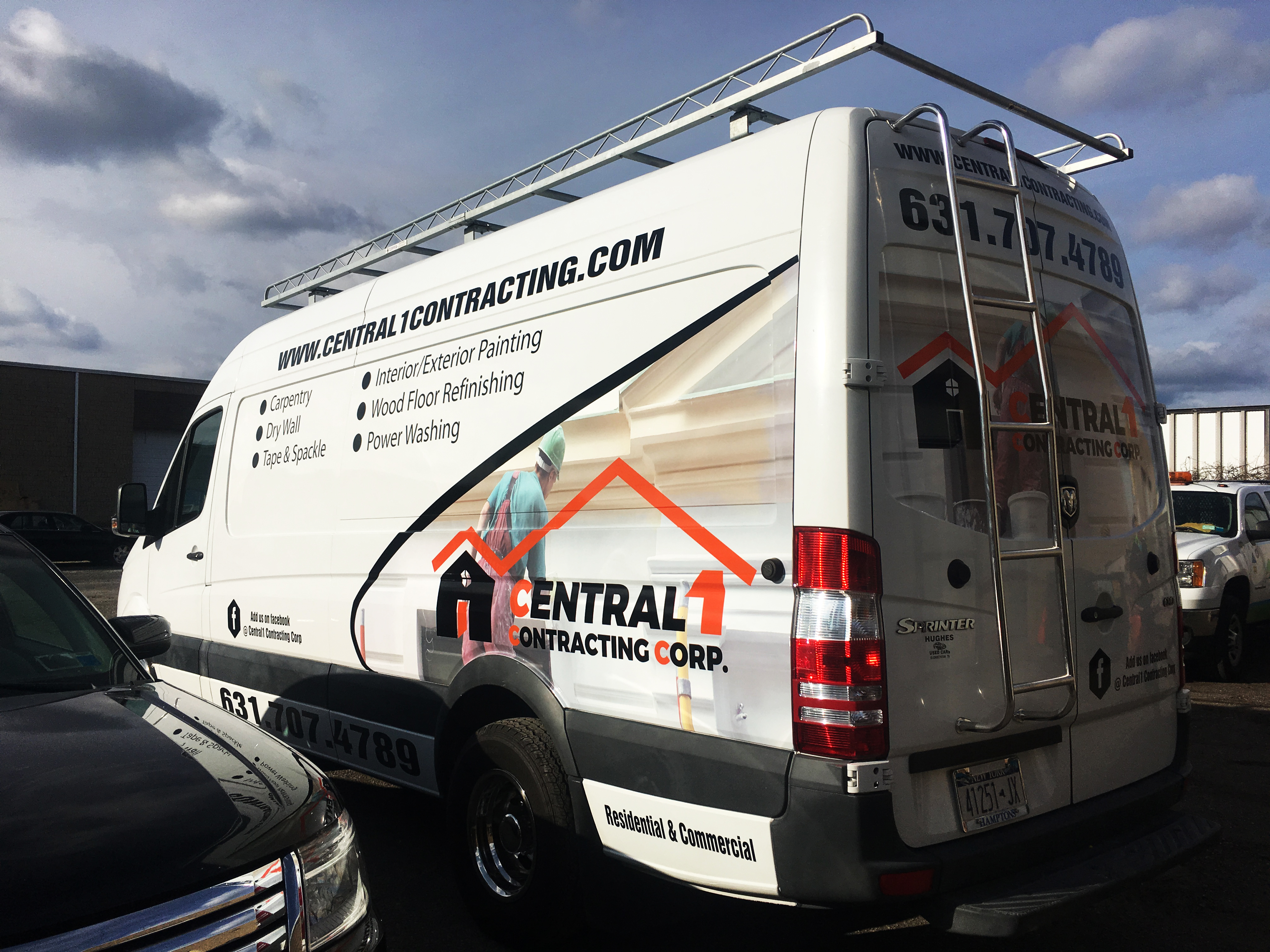 Custom truck/fleet graphics