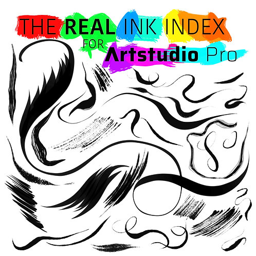 The Real Ink Index for Artstudio Pro (Single Set)
