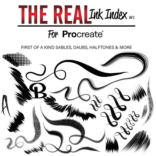 The Real Ink Index For Procreate (Single Set)
