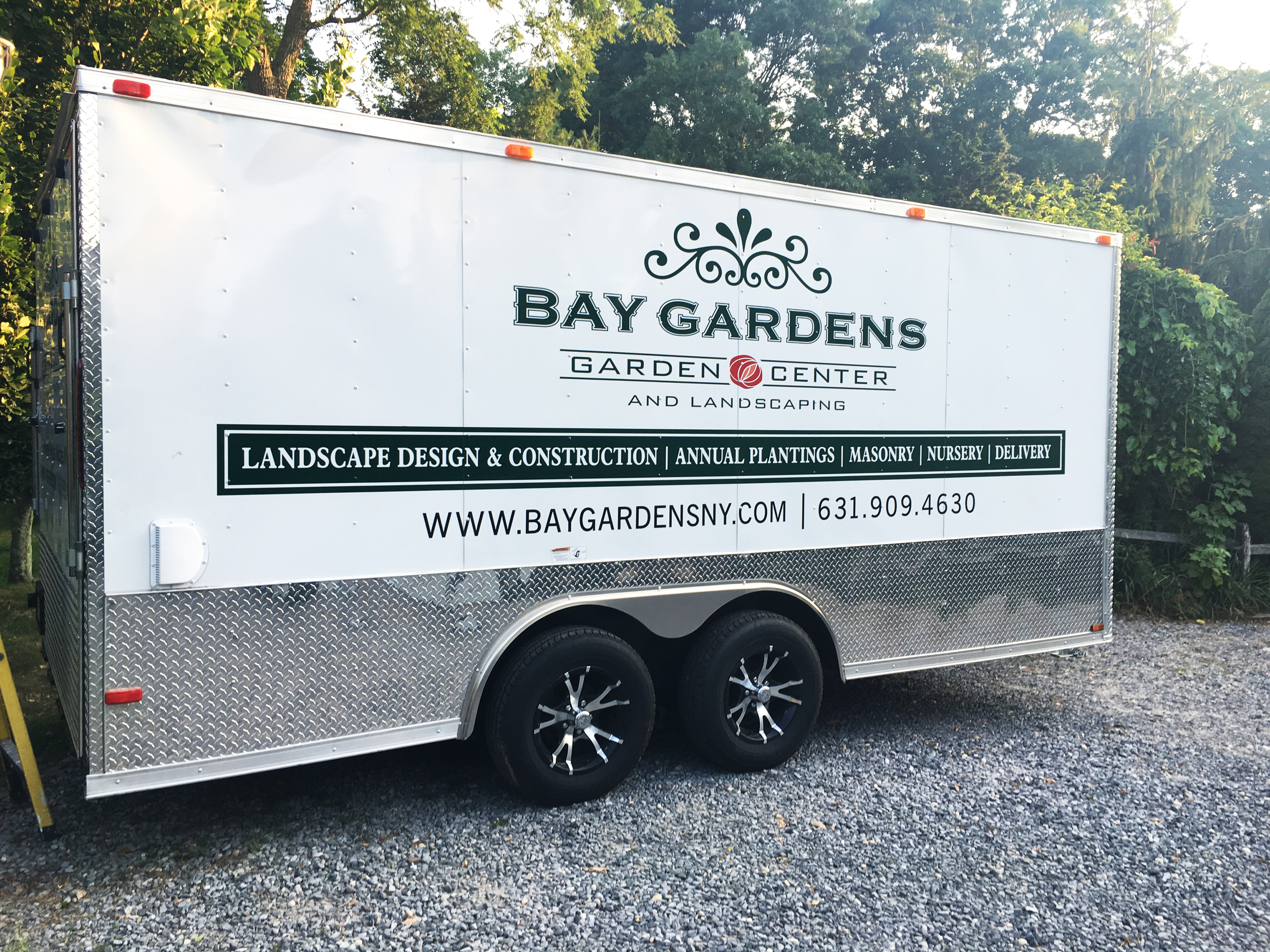 Bay Gardens Truck Lettering/Graphics