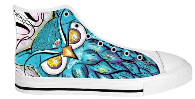 Owl sneakers