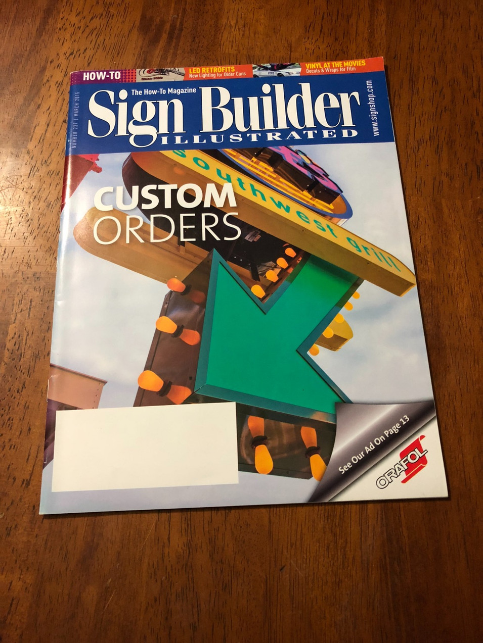 SBI Magazine Feature March 2015