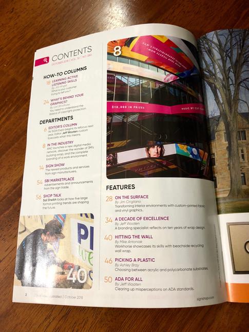 SBI Magazine Feature Oct 2018