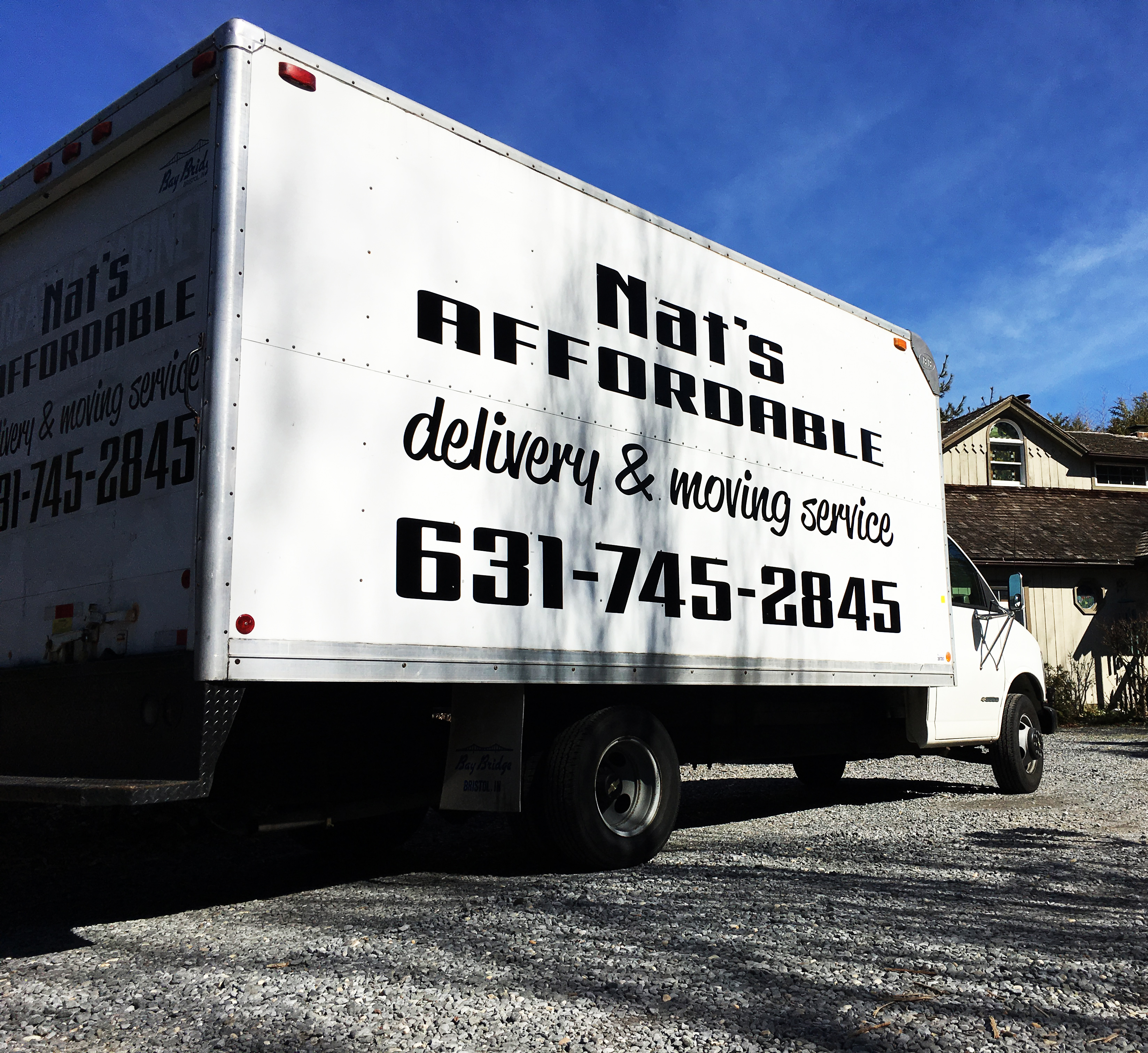 Box Truck Lettering & Graphics