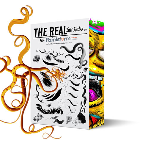 The Real Ink Index Brush Set For Paintstorm Studio