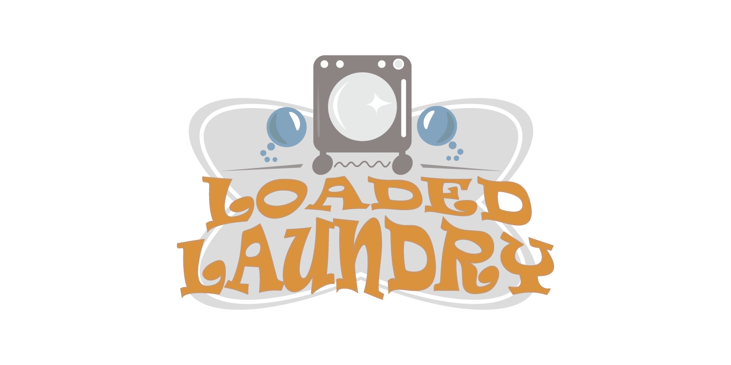 Loaded Laundry Logo Design