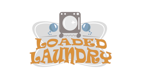 Loaded Laundry Logo Design