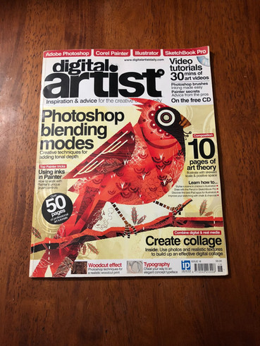 Digital Artist Mag Feature