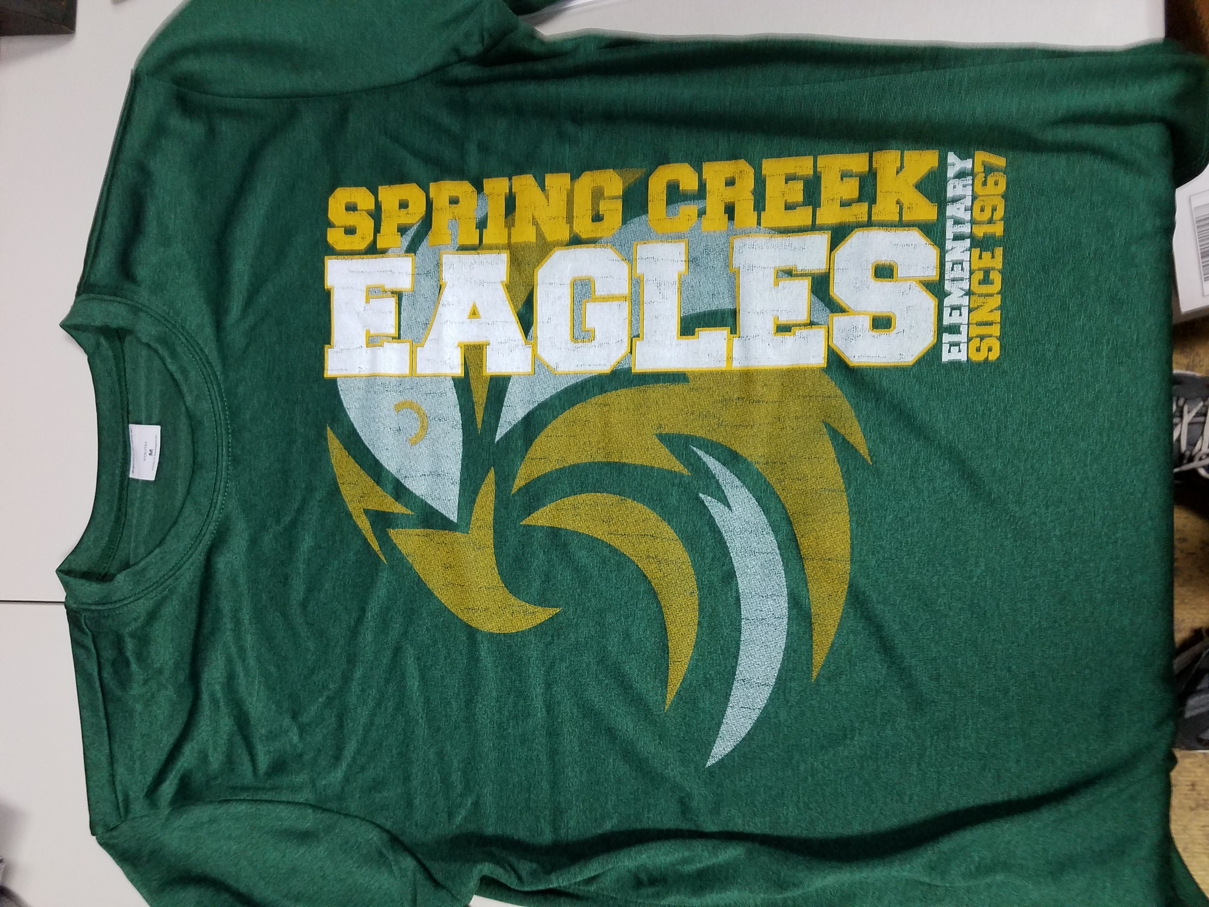 Spring Creek Dri fit shirts